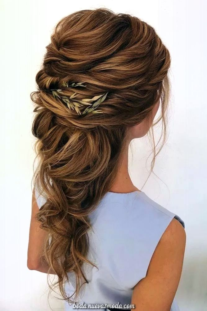 55 Creativos Peinados De Hacer Que La Novia El Enfoque De La Boda 20 Welco Peinados De Novia Sueltos Peinados Boda Pelo Largo Peinados Romanticos