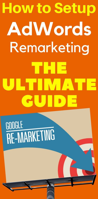 How to Setup AdWords Remarketing Google Online