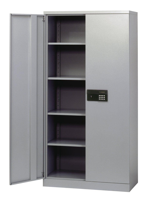 Lock Up Steel Storage Cabinets Metal Storage Cabinets Locking