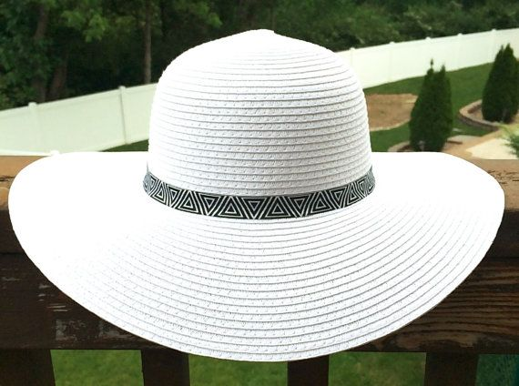 This boho floppy sun hat is the perfect accessory for the winery ... c47d47556a11