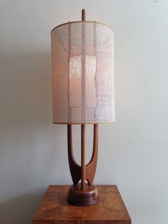 Vintage danish modern sculptural teak lamp midcentury vintage vintage danish modern sculptural teak lamp aloadofball Images