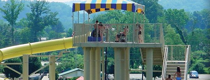 Barbourville Water Recreation Park Water Slides Water Park Recreation