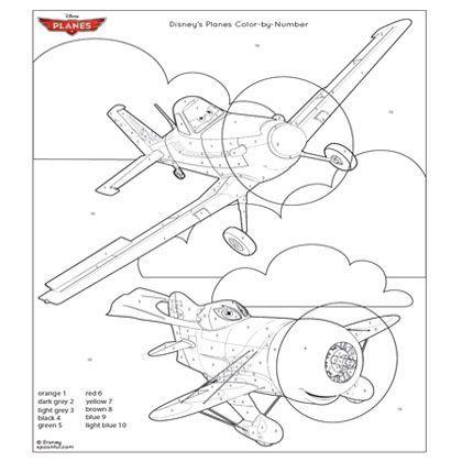 Disneys Planes Coloring Page