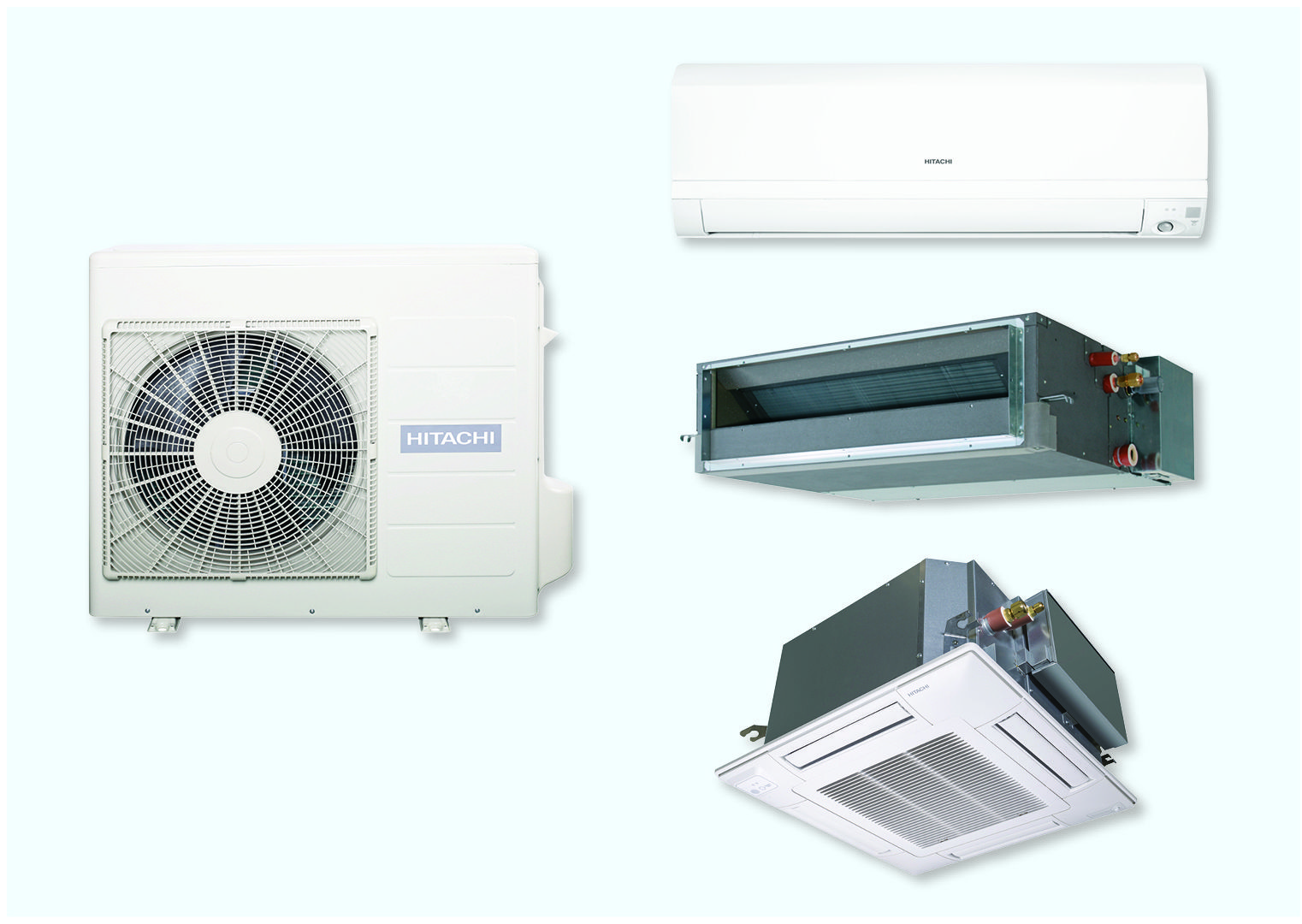 Hitachi R32 Monozone Klimaanlagen Fur Light Commercial Luftung Anlage Und Klimaanlage