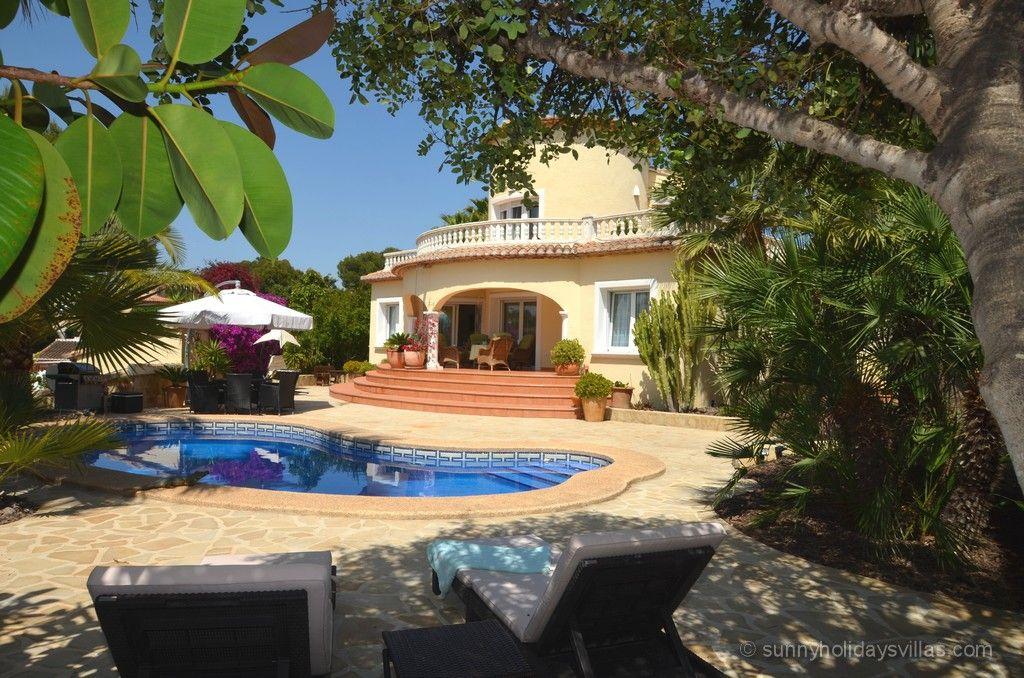 Casita el Rincon in Calpe, sleeps 2, A/C, nice pool area