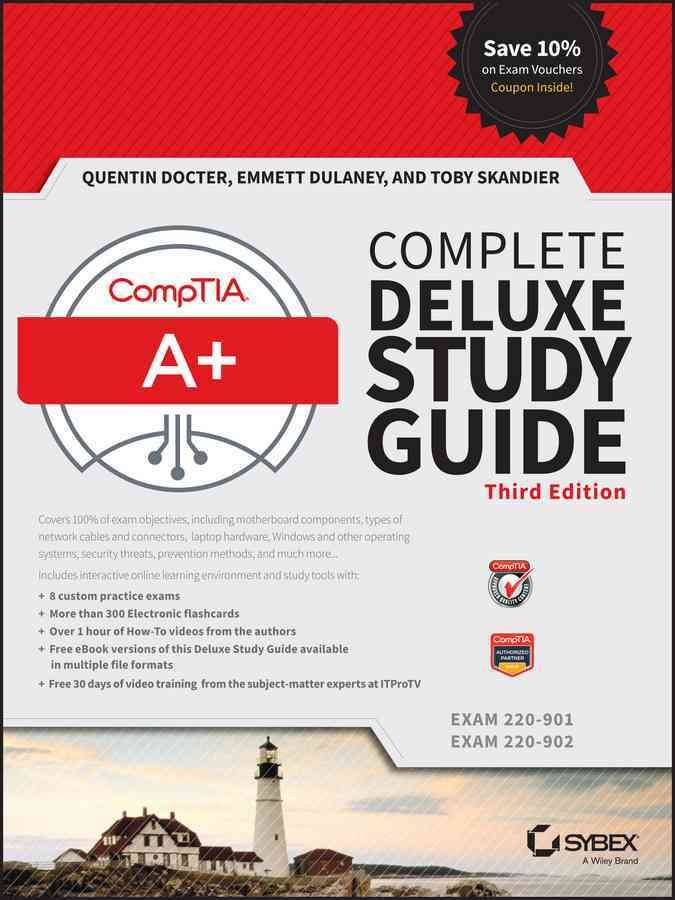 Comptia A Complete Exams 220 901 Exam 220 902 Hardcover Overstock Com Shopping The Best Deals On General Computer Comptia A Study Guide Exam