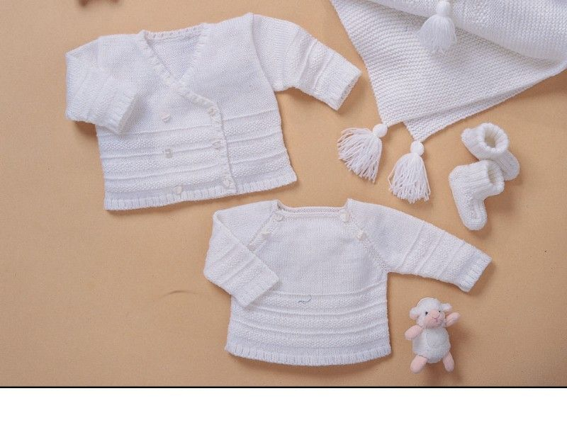 layette tricot modele
