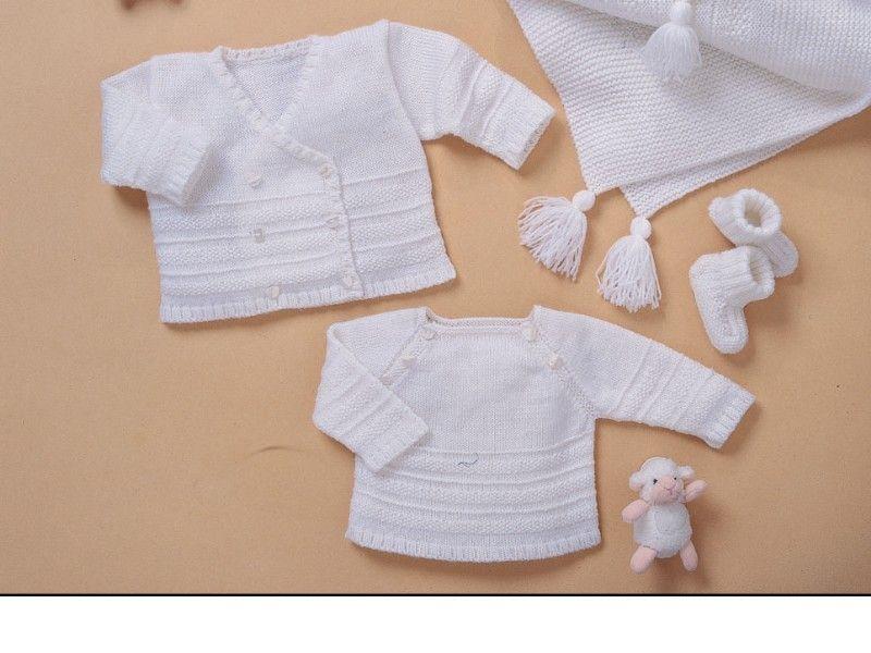 modele tricot bebe gratuit bergere de france
