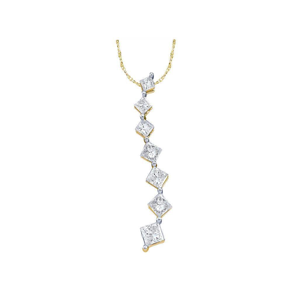 1-4CT-Diamond JOURNEY PENDANT