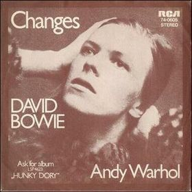 """A graphic from David Bowie's """"Changes"""""""