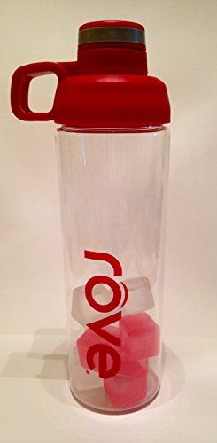 Rove 30 Oz. Leak-proof Eastman Tritan with Reusable Ice Cubes ** Details can be found by clicking on the image.