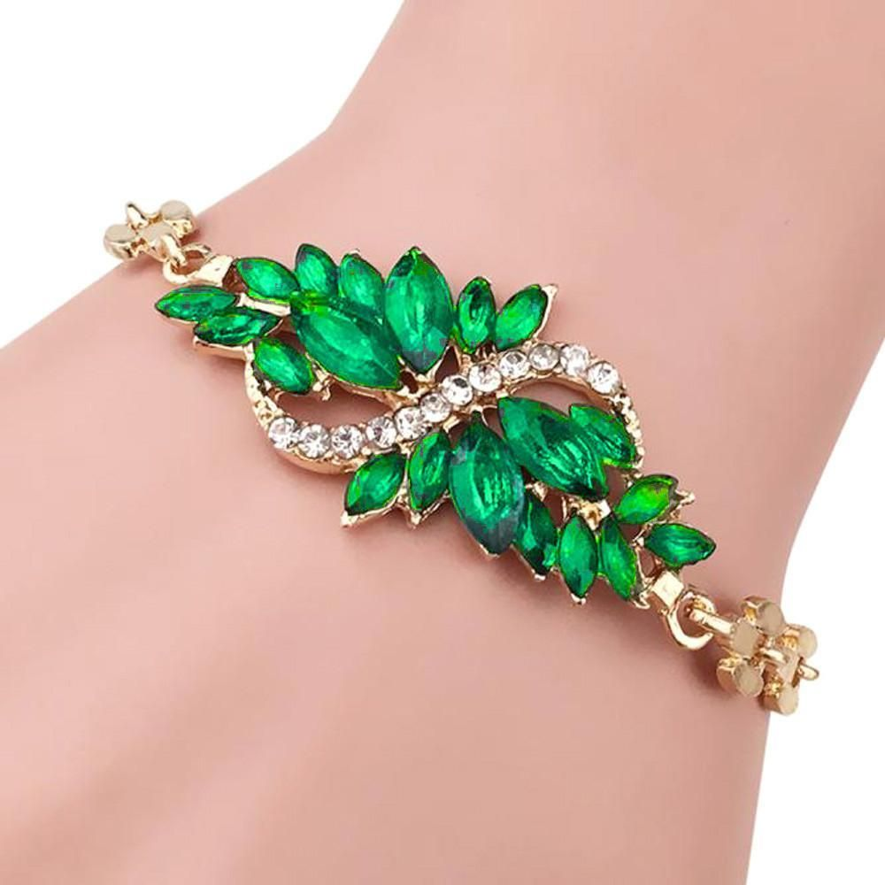 Leaf bracelets women fashion trendy leaves and products