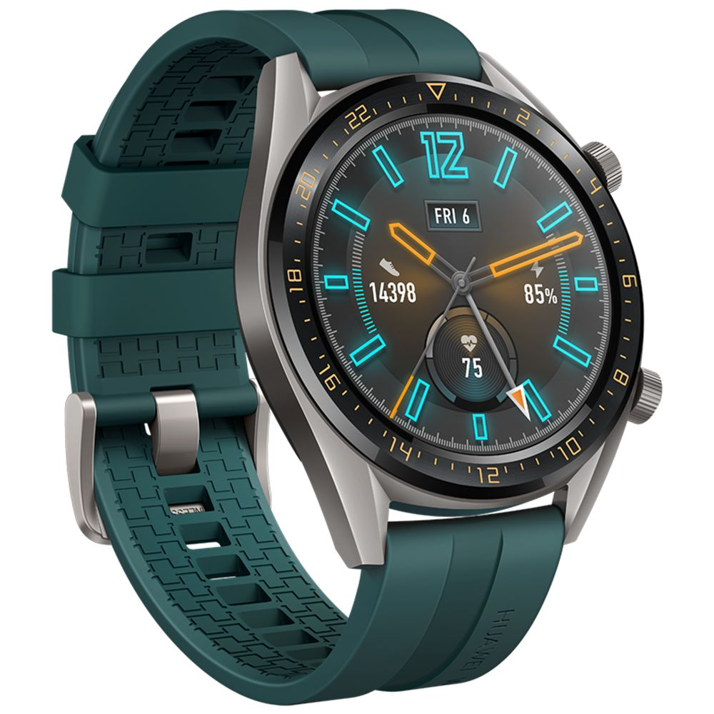 Huawei Watch Gt Sports Smartwatch 1 39 Inch Amoled Colorful Screen Heart Rate Monitor Built In Gps Green Huawei Watch Smart Watch Digital Watch Face