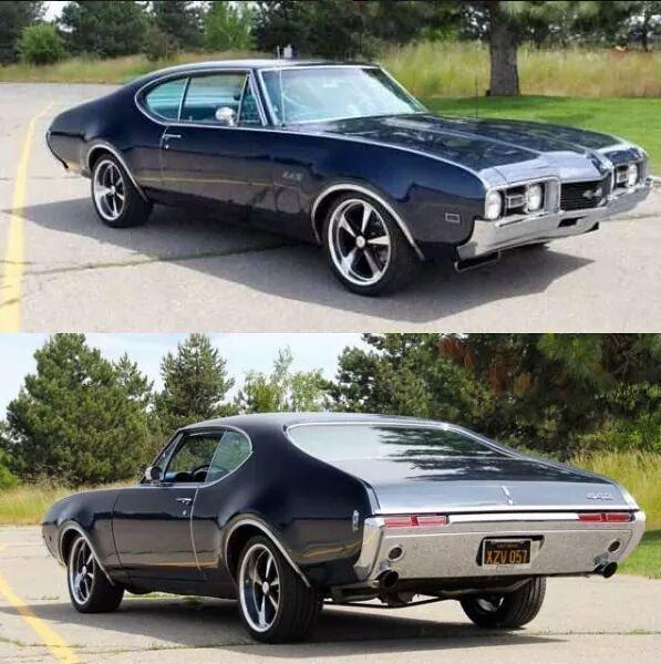 @OldSchRides  1968 Oldsmobile 442