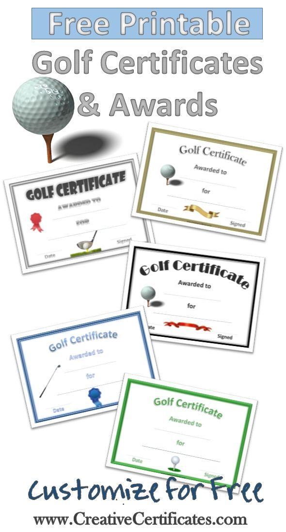 Free printable golf awards and certificates that can be customized free printable golf awards and certificates that can be customized with your own text check available dates for your next event at balcones country club yelopaper Choice Image