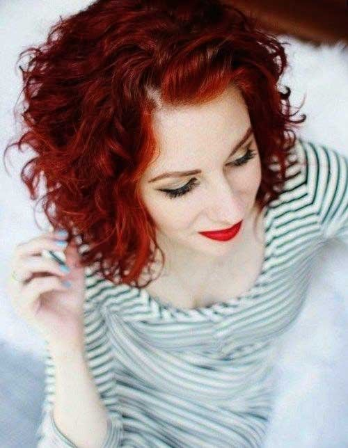 Astonishing Popular Short Red Curly Hair Hairstyles To Try Short Curly Schematic Wiring Diagrams Amerangerunnerswayorg