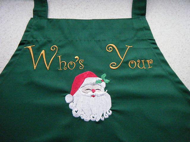 Who's your Santa apron
