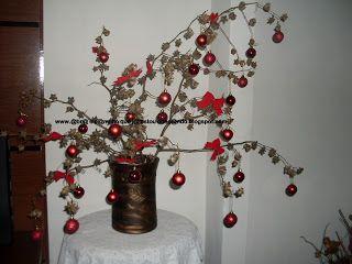 @br@ o c@minho que j@ estou cheg@ndo: Minha árvore de natal desse ano resolvi fazer reciclada.