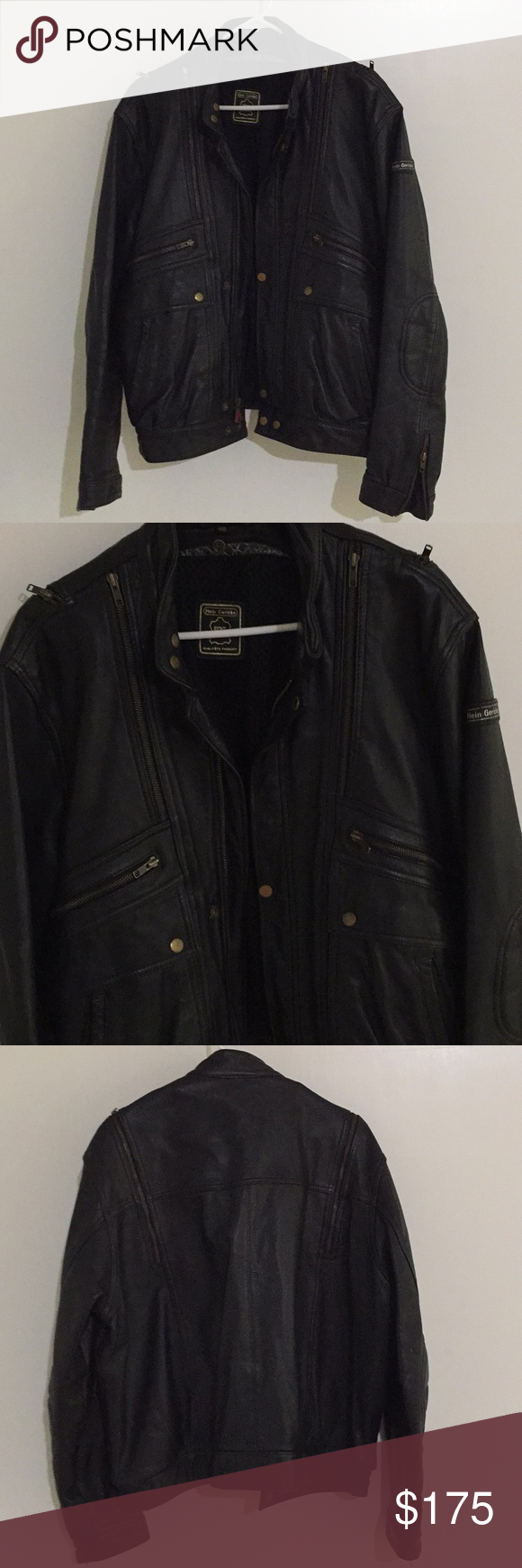 Vintage HEIN GERICKE leather Jacket, Leather jacket