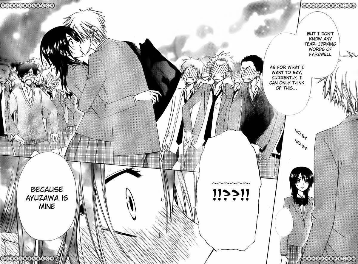 Kaichou Wa Maid-sama! 64 Page 28