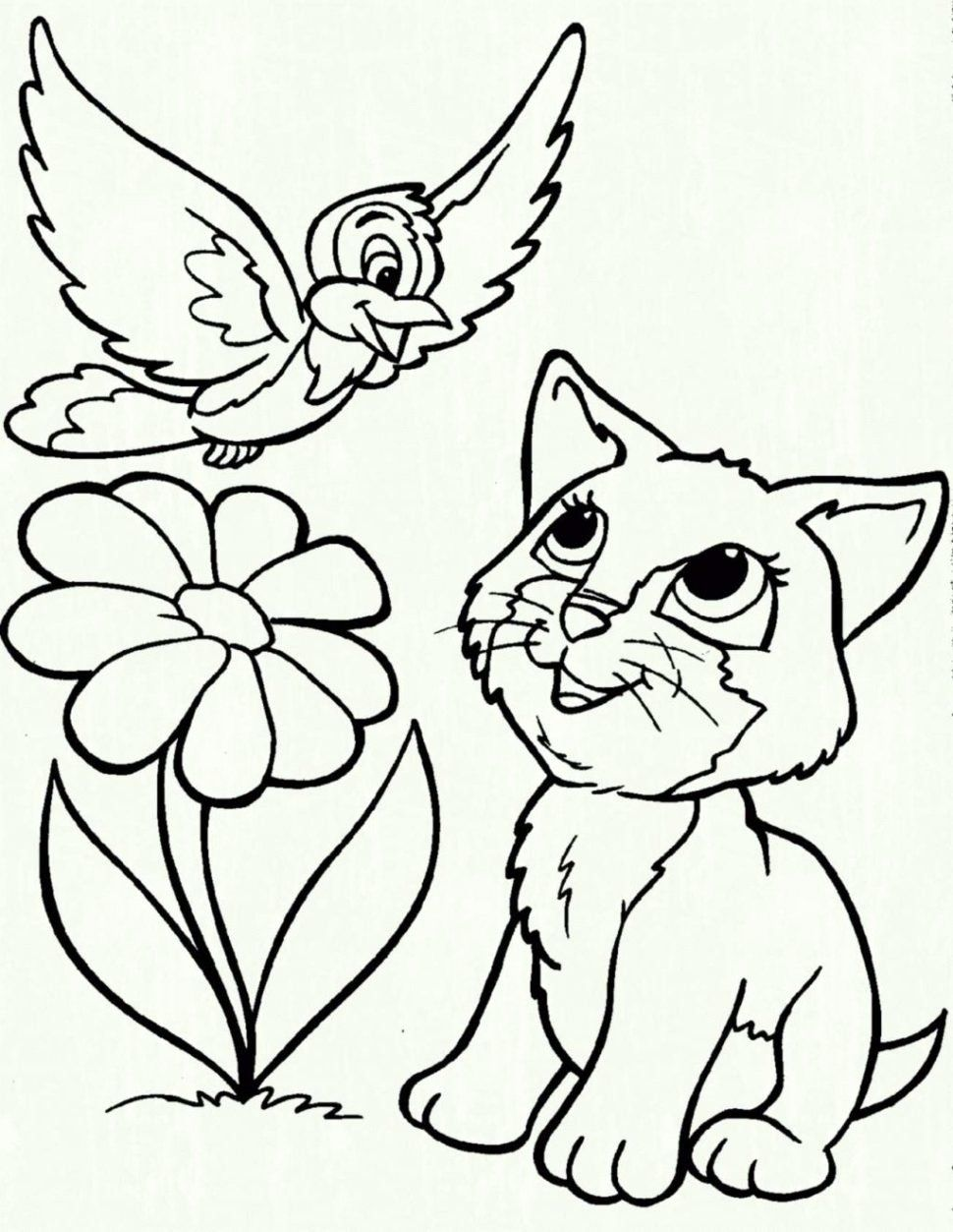 Animal Rescue Coloring Book Beautiful Coloring Books Page Cats And Dogs To Color In Cat Dog Mandalas Para Colorear Animales Gatito Para Colorear Dibujos