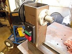 Lathe Switch By Captainleeward    Home Made Wood Lathe New.