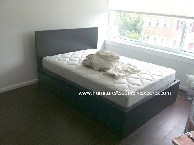 Ikea Malm Storage Bed Assembled In Waterfront Dc By The National