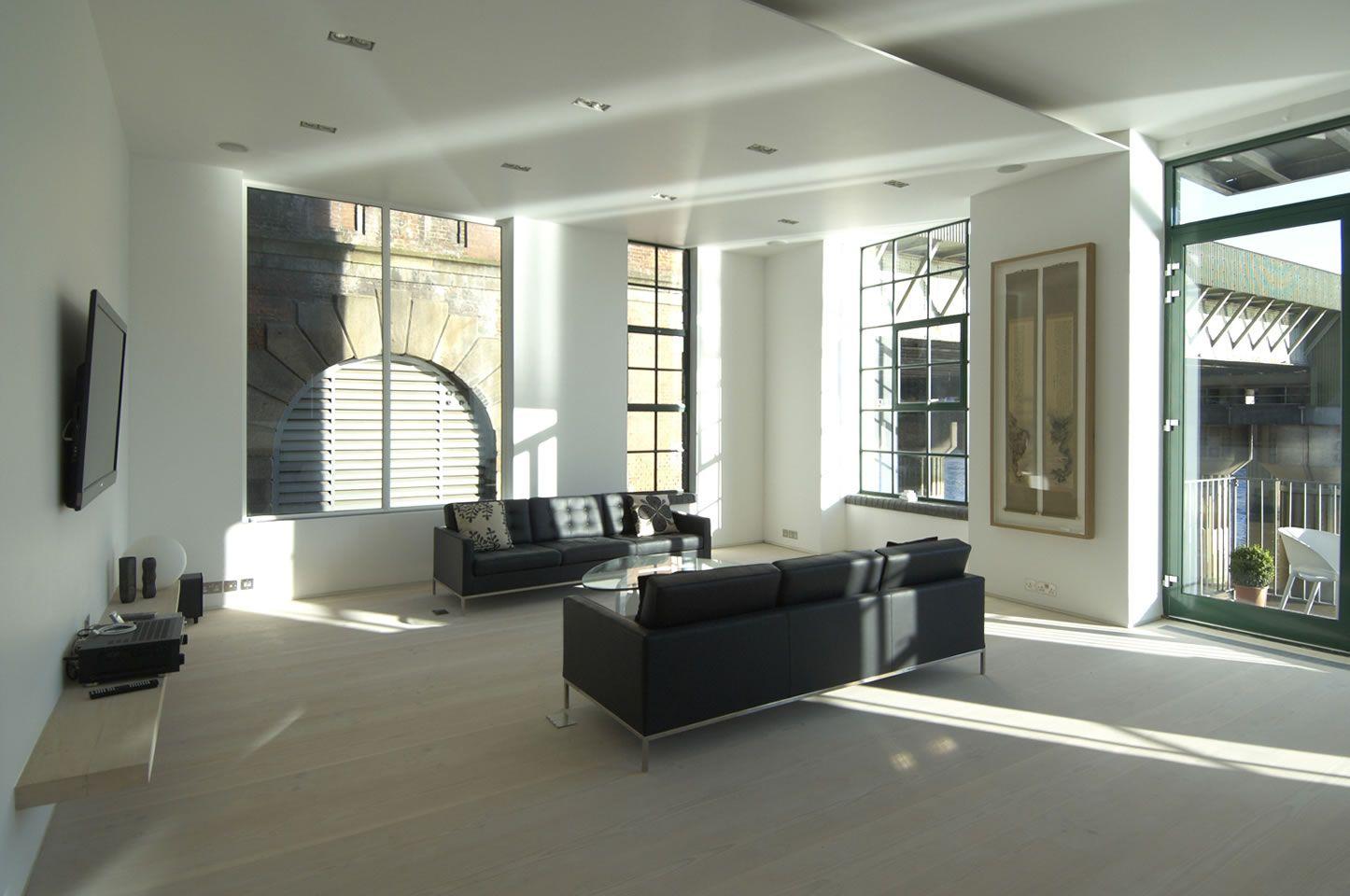 Clink street apartment london by chiara ferrari studio