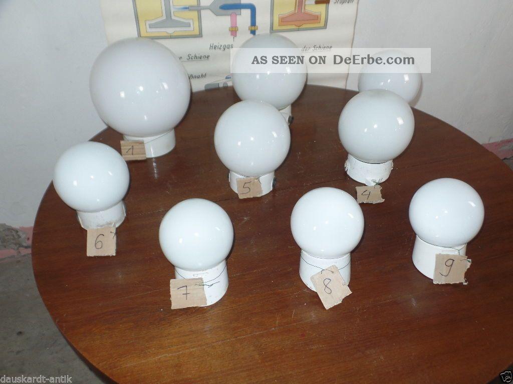 Hausflur Design deco milchglas kugel le industrie design loft werkstatt