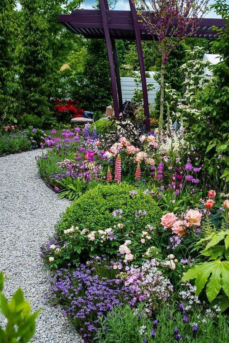 Photo of 90 atemberaubende kleine Cottage-Gartenideen für die Gartengestaltung – Mein B …