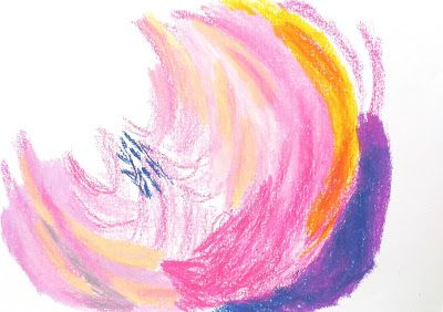 Colours Experimenting Series #1 Flowers and Joan Mitchell colours inspired  http://www.zoefreespirit.blogspot.com