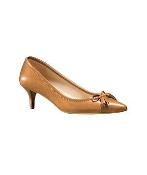Little Brown Kitten Heels | Tsaa Heel