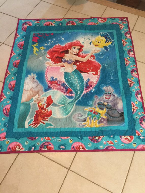 Little Mermaid Quilt Little Girl Quilts Mermaid Quilt