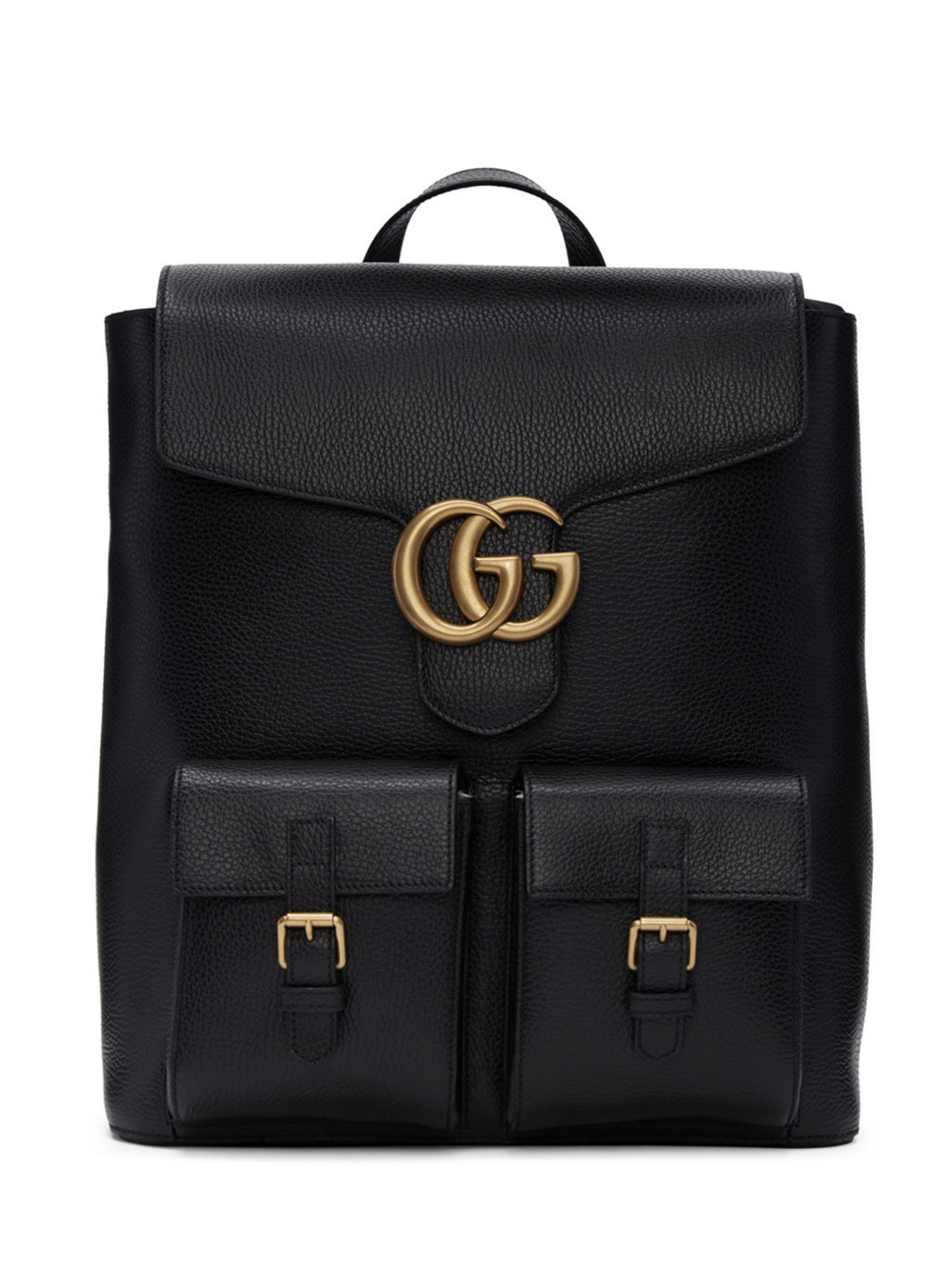 f56268aa6 Gucci Black Marmont Backpack from SSENSE (men, style, fashion, clothing,  shopping, recommendations, stylish, menswear, male, streetstyle, inspo,  outfit, ...