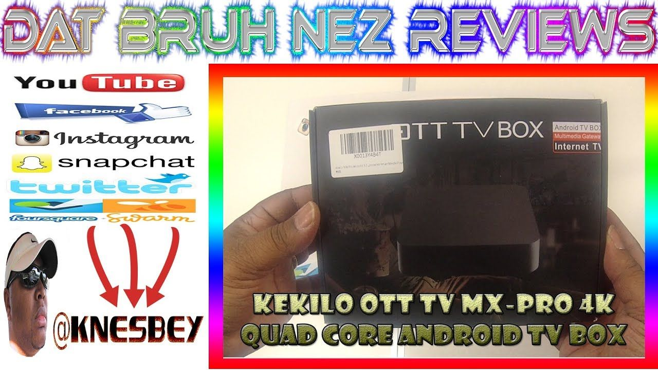 Pin by Kareem Nesbey on REVIEWS Android tv box, Quad