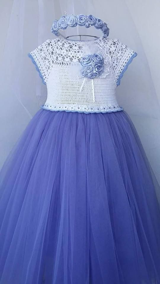Pin de Raquel valero en vestidos de crochet   Pinterest   Crochet ...