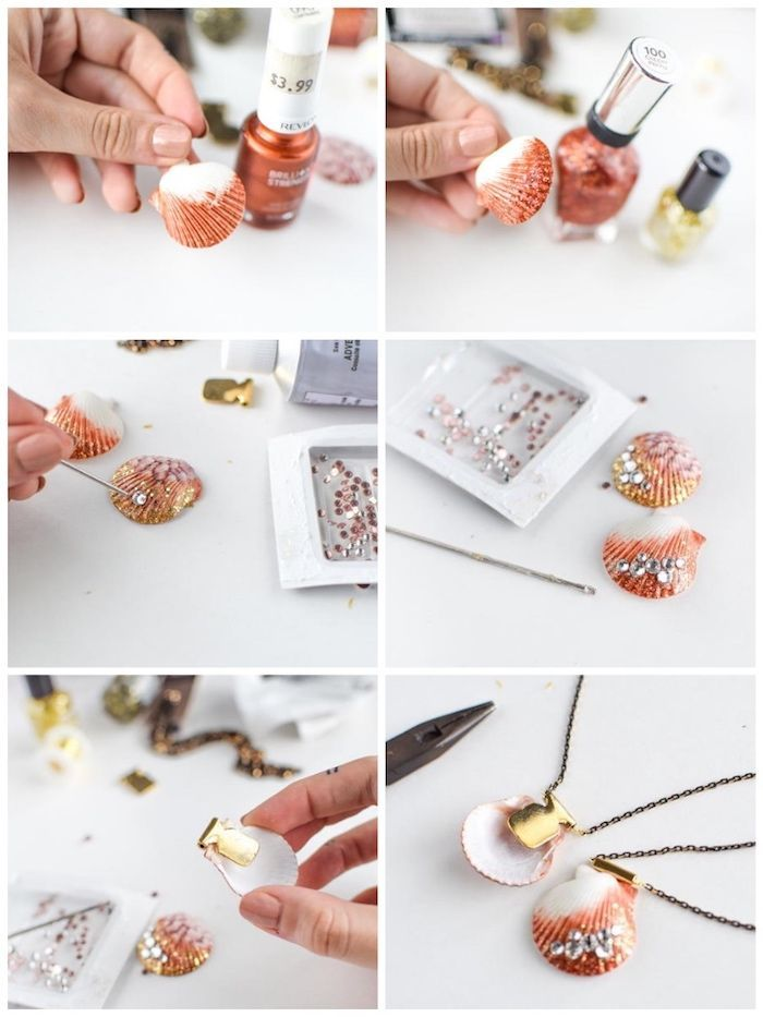 Photo of ▷ 1001 + ideas and tutorials on crafting with shells