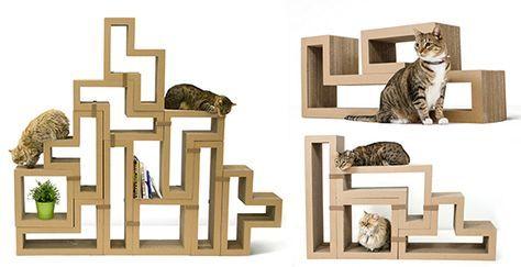 Introducing Katris Modular Cardboard Cat Furniture — hauspanther