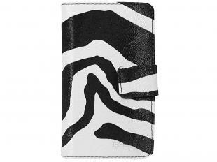 Capa Protetora Carteira para Celular e Smartphone - Geonav Zebra