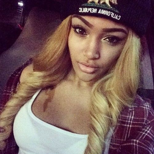 Blonde Hair On African Americans