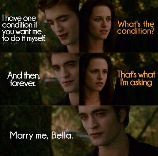 Marry me Bella