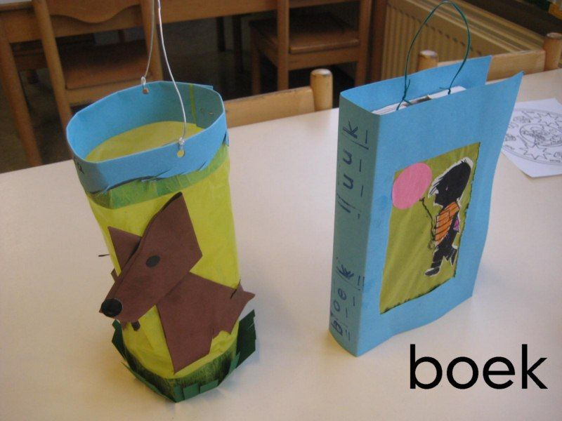 lampion hondje  boek