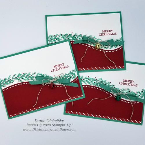 Curvy Christmas #dostamping #stampinup #cardmaking