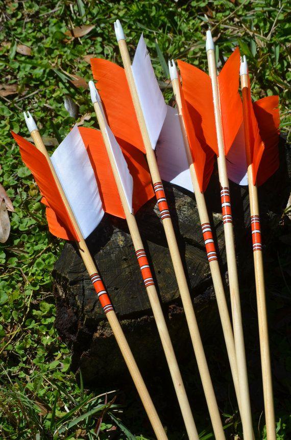 Archery Flu Flu arrowswood arrows small game by PodunkHollow