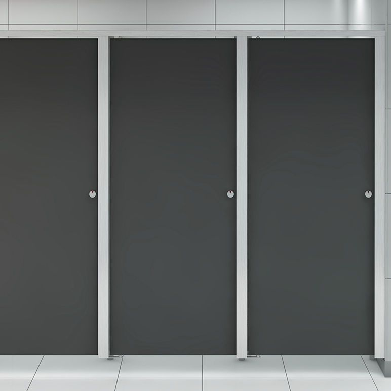 Bon Commercial Toilet Cubicle / Stainless Steel OASIS Thrislington Cubicles