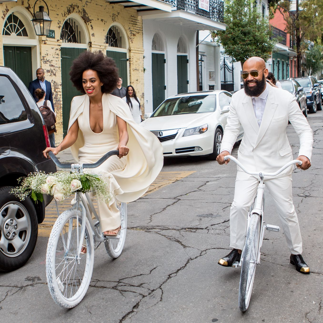 Famous wedding dresses  The  Most Iconic Wedding Dresses of All Time  Solange knowles