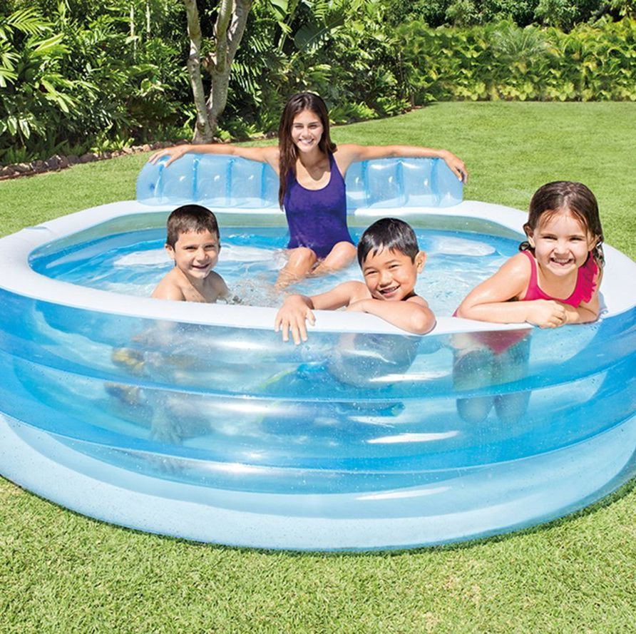 This Top Selling Inflatable Pool On Amazon Is Only 45 And It Has Tons Of Room Family Lounge Pool Pool Lounge Inflatable Lounge Pool