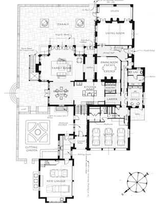 Period Homes Magazine Courtyard House Plans House And Home Magazine House Plans