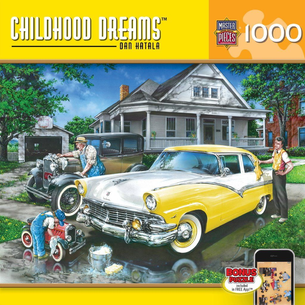 Childhood Dreams Three Generations 1000 Piece Jigsaw Puzzle
