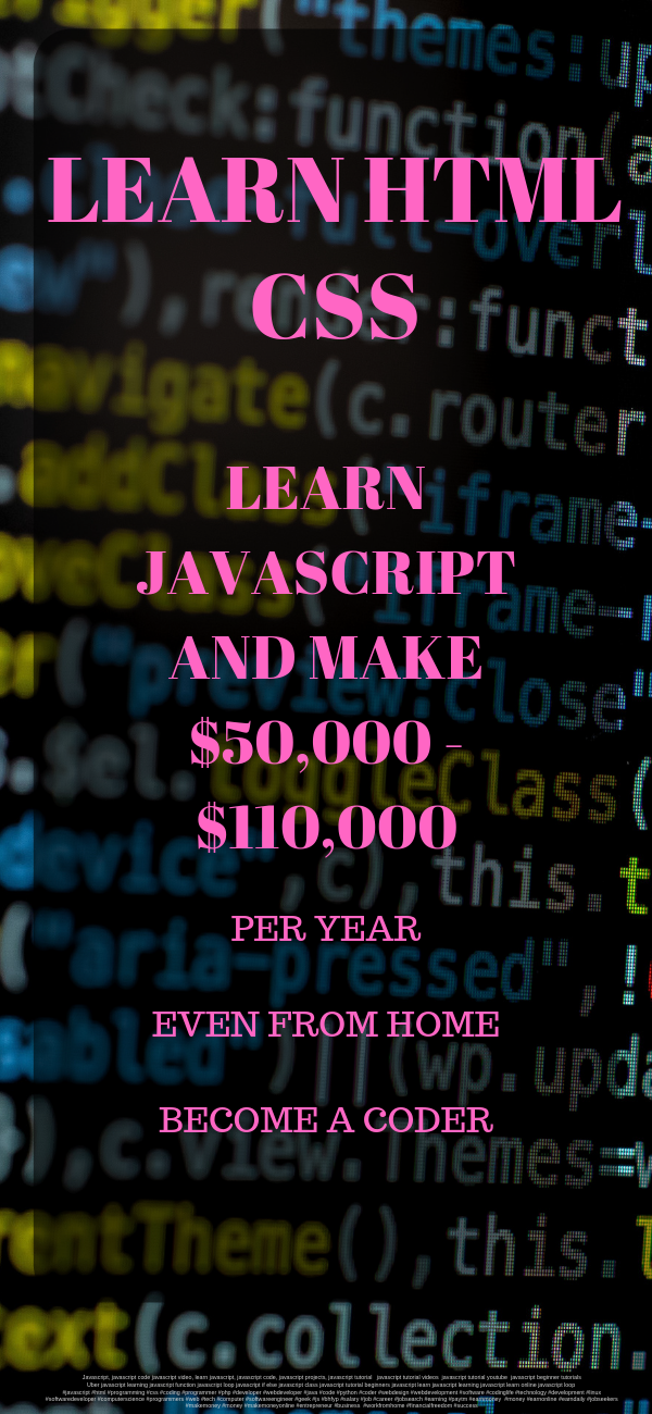 Earn good money by a coder. Work online form home